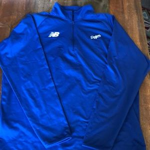 Dodgers New Balance pullover Large